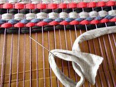 DIY tapete salvamanteles posavasos alfombra de trapillo