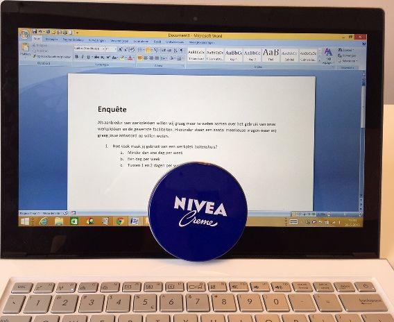 Hoe je met NIVEA een vragenlijst maakt #blog #goodplace2work #ondernemen #powervrouwen #werkplek #flexplek