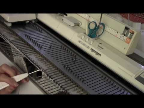 Diana natters on...           about machine knitting: New Video for November - Knit Both Sides of a Neck...