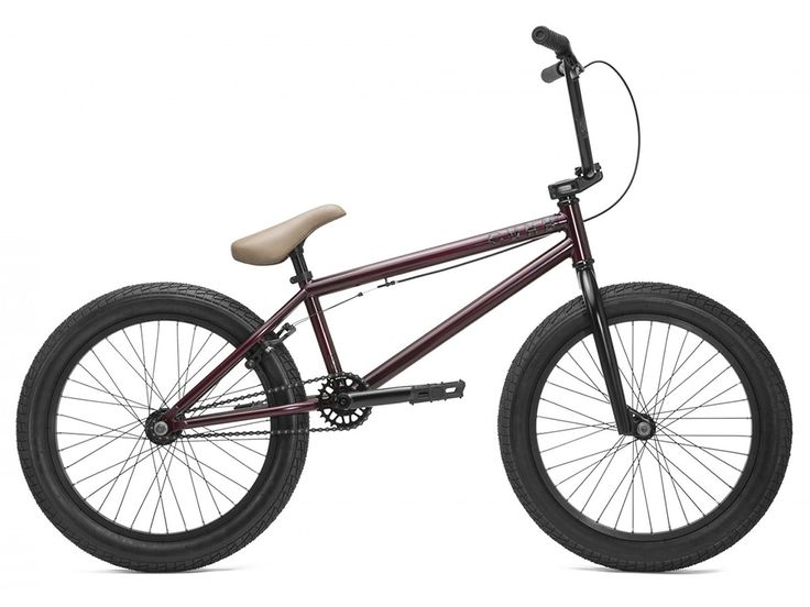 "Kink Bikes ""Curb"" 2017 BMX Bike - Matte Dark Plum | kunstform BMX Shop & Mailorder - worldwide shipping"