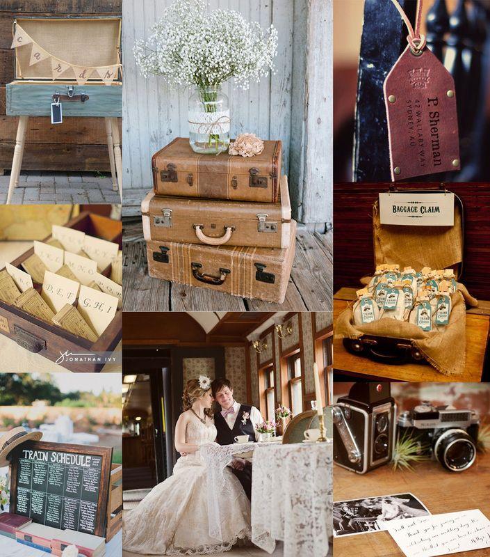 Be Inspired: Vintage Train Locomotive Wedding