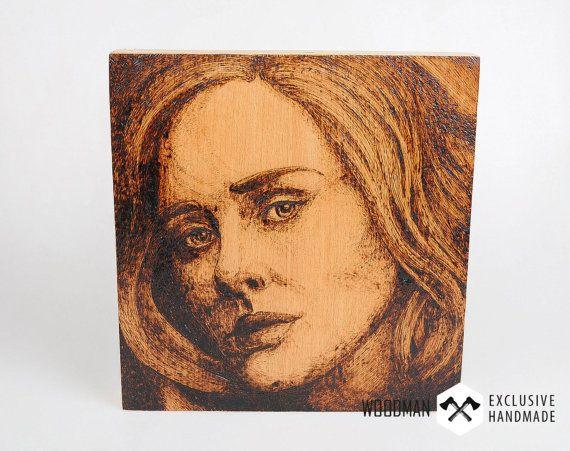 Verbranntes Holz Portraiture Professional Portraiture Custom  Portraits Personalized Porträts Professional Artwork