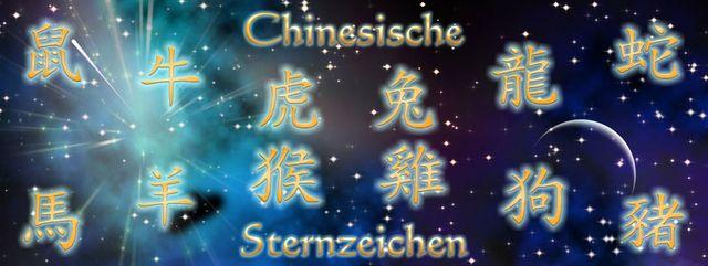 Chinesische Sternzeichen, ihre Legende und Bedeutungen