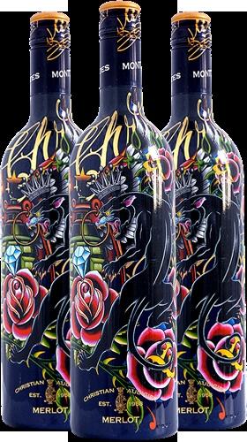 Christian Audigier wine, Ed Hardy style designs, CooperWhite wines.