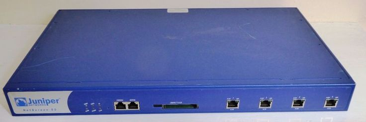 Juniper Networks NetScreen 204 NS-050-003 VPN Firewall #JuniperNetworks