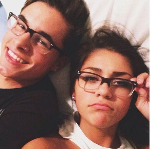 Youtubers Kian lawley and Andrea russett they are so cute together