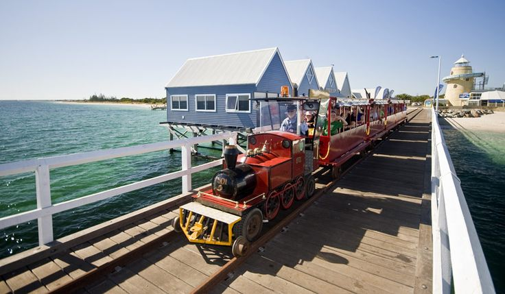 Busselton Jetty Train | TWA and Australia's South West
