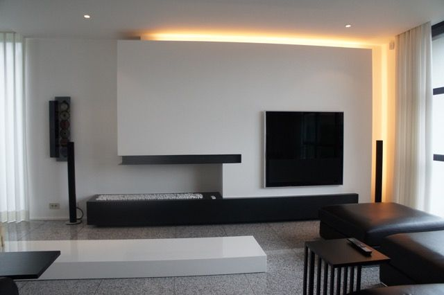 13 best inbouwhaarden images on Pinterest Modern fireplaces, Tv