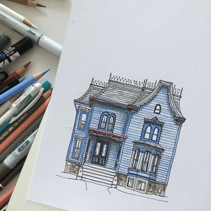 Best Building Sketch Ideas On Pinterest Building Drawing