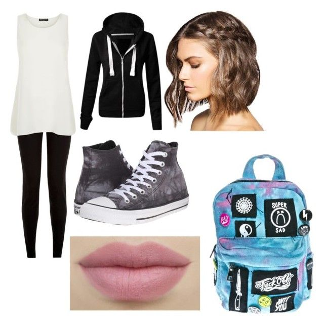 peter parker by glimmergirlgamer on Polyvore featuring polyvore fashion style Aquascutum Converse Current Mood clothing