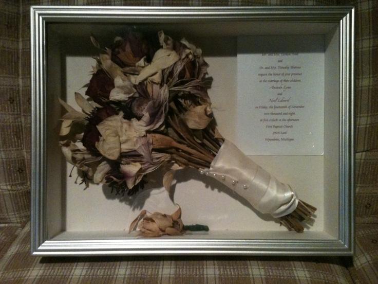 20 best Wedding Shadow box images on Pinterest | Wedding keepsake ...