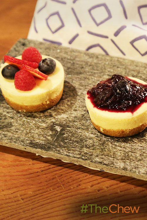 Never mess up a cheesecake again with these Foolproof Mini Cheesecakes from Clinton!