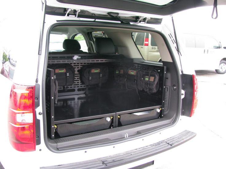 106 Best Suv Rear Storage Amp Tool Edc Images On Pinterest Caravan Van And Garages