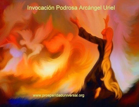 ARCÁNGEL URIEL- INVOCACIÓN PODEROSA PARA LA PROSPERIDAD ECONÓMICA - PROSPERIDAD UNIVERSAL - www.prosperidaduniversal.org