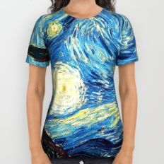 Stary Night All Over Print Shirt