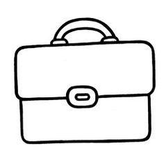 boekentas kleurplaat - Google zoeken