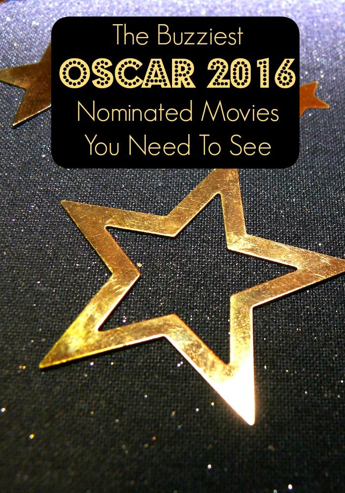 I have placed my bets on the best Oscar 2016 nominated movies, have you? Check out my lsit of the buzziest nominated movies to see this year!