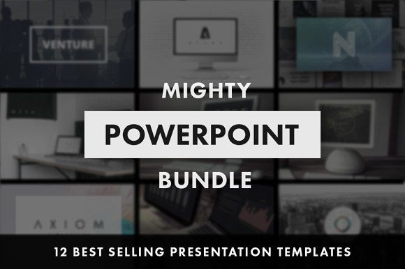 Mighty PowerPoint Bundle by Tugcu Design Co. on @creativemarket