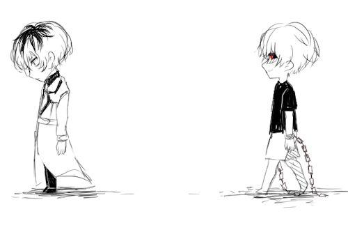 Tokyo Ghoul:re Haise Sasaki and Kaneki Ken by Fernariza Cuyos #75393360 | i.ntere.st