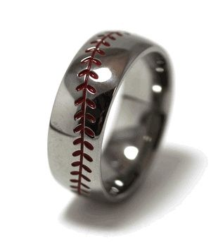 Baseball Wedding Band - Wedding inspirations