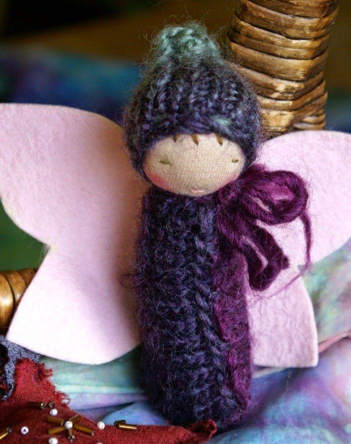 tilly tilda: Waldorf Doll Tutorial / Pattern - Butterfly Baby Bunting Dolls