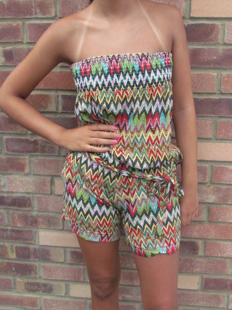 Patterned Summer Jumpsuit, £15.00 available @ www.nellypink.com