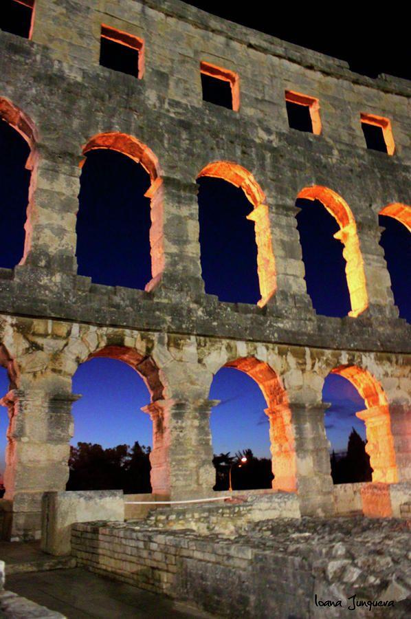 Roman Amphitheatre, Pula, Croatia #travel #travelinspiration #travelphotography #croatia #YLP100BestOf #wanderlust