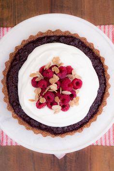Torta de Frutas de Vermelhas   Vídeos e Receitas de Sobremesas