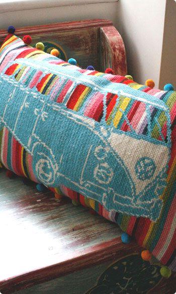 rainbow vw tapestry!! Love!