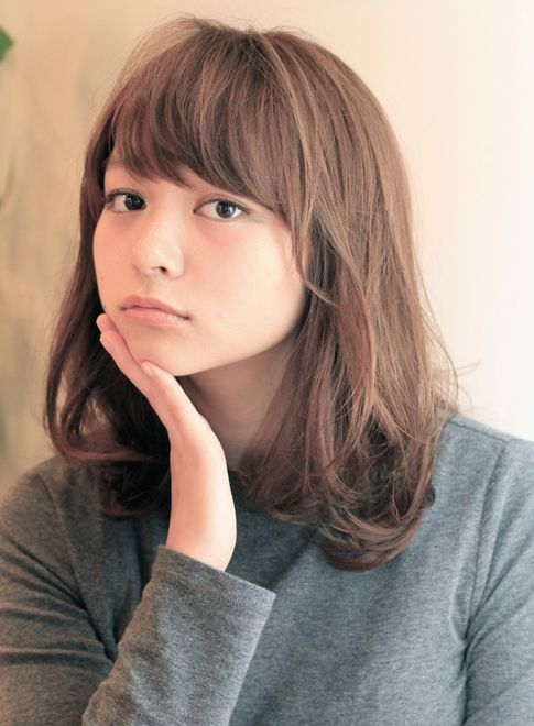 2015春夏ふんわり×ナチュラルセミディ 【andrey】 http://beautynavi.woman.excite.co.jp/salon/27221?pint ≪ #mediumhair #mediumstyle #mediumhairstyle #hairstyle・ミディアム・ヘアスタイル・髪形・髪型≫