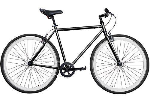 Gama Bikes Alley Cat Mens Commuter Bike Black/White 20/One Size https://mountainbikeusa.co/gama-bikes-alley-cat-mens-commuter-bike-blackwhite-20one-size/