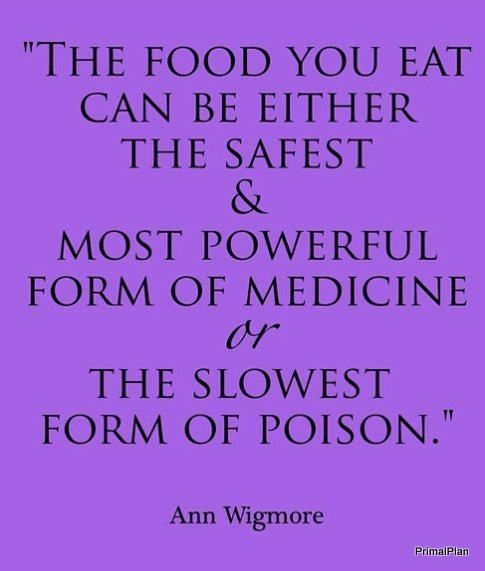 And if you have to go through withdraw to stop eating something it's a drug....