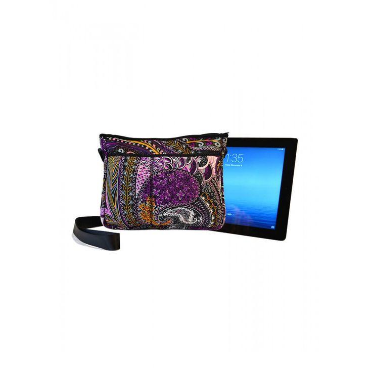 Paisley Ipad Tech Bag w/straps