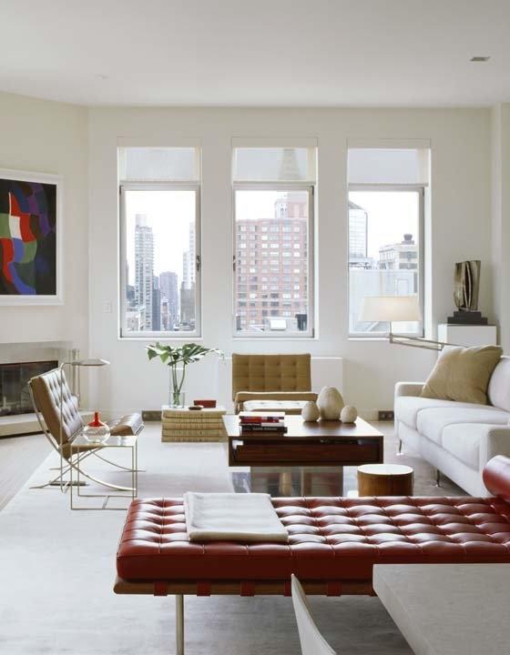 Checkmate...: Living Design, Decor Ideas, Colors Art, Apartment Design, Bierman Chelsea Penthouses, Living Room, Interiors Design, Bruce Bierman, Bierman Design