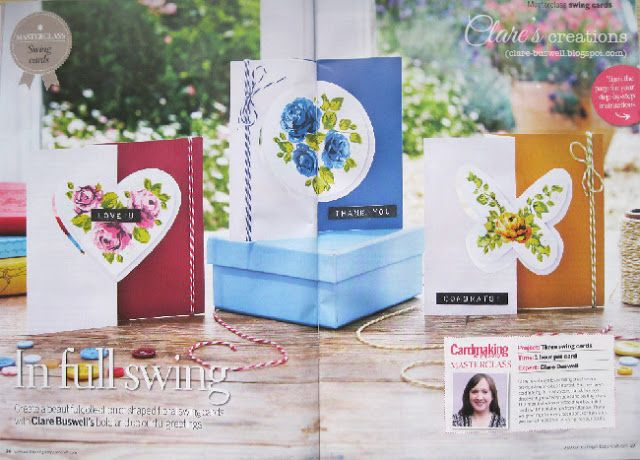 Swing Cards - Cardmaking and Papercraft Magazine