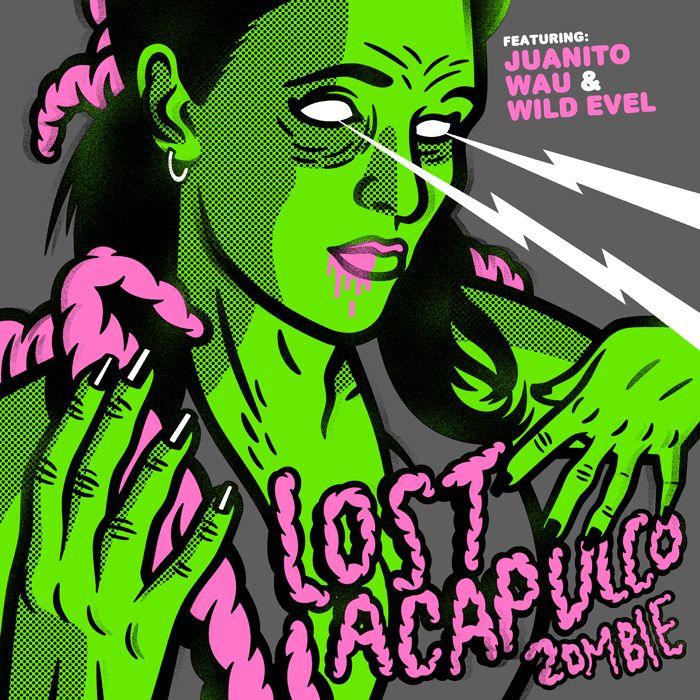 "Dr. Alderete 2012 Lost Acapulco - Zombie (7"") [Lost Acapulco] #albumcover"