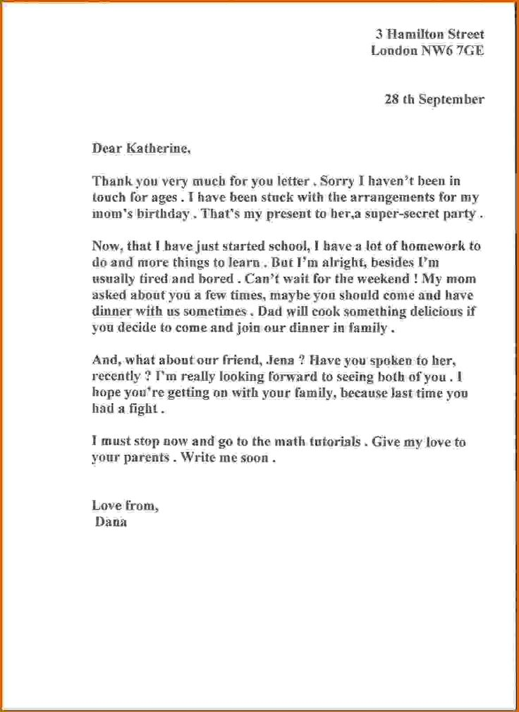8 informal letter to a friend lease template