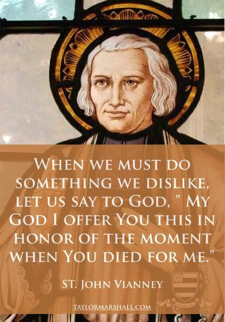 St. John Vianney on Duty
