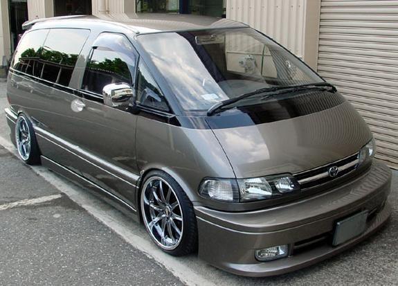 1991 Toyota Previa.