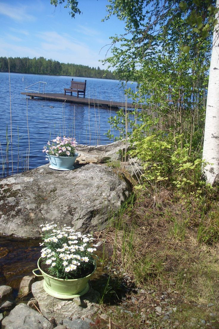 Suomen Kesä, mökin rannasta
