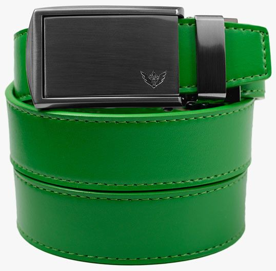Green Leather Belts