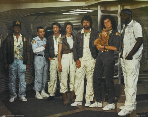 The cast of 'Alien', 1979.