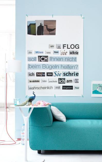 63 best Wohnen mit Blautönen images on Pinterest Brickwork - schöner wohnen farben wohnzimmer