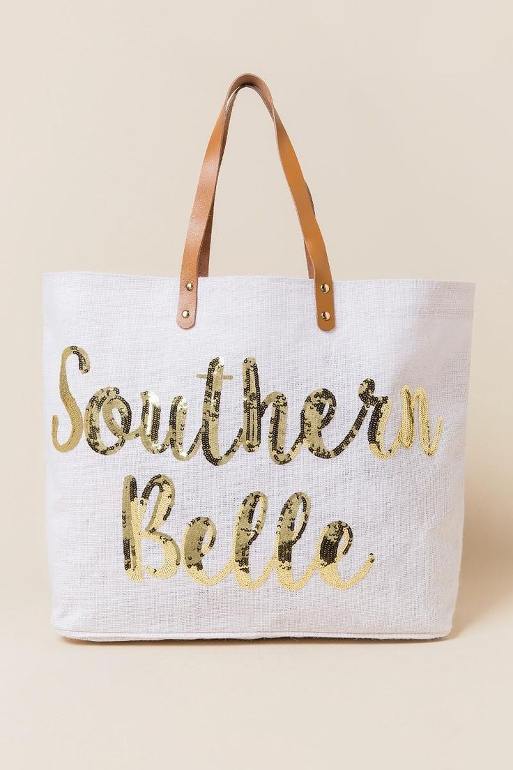 Southern Belle Beach Tote