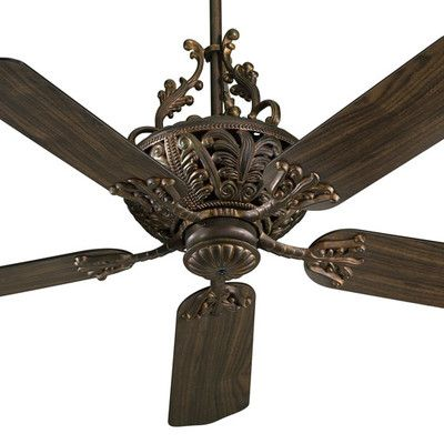 Features:  -Ceiling fan.  -Energy star.  -Eco friendly.  -Motor size: 188 mm x 15 mm.  -Extra filigree included: No.  -Ceiling Hugger: No.  Motor Finish: -Antique White; Toasted Sienna; Corsican Gold;