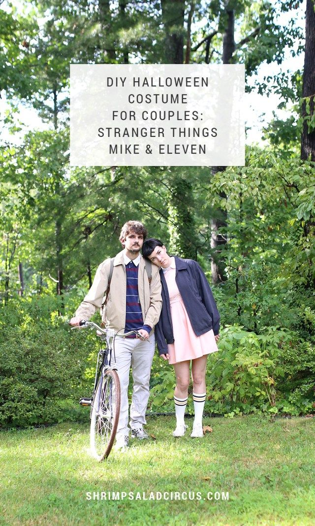 Get your fangirl or fanboy on this fall with this DIY Stranger Things Halloween costume for couples, featuring Mike and Eleven.