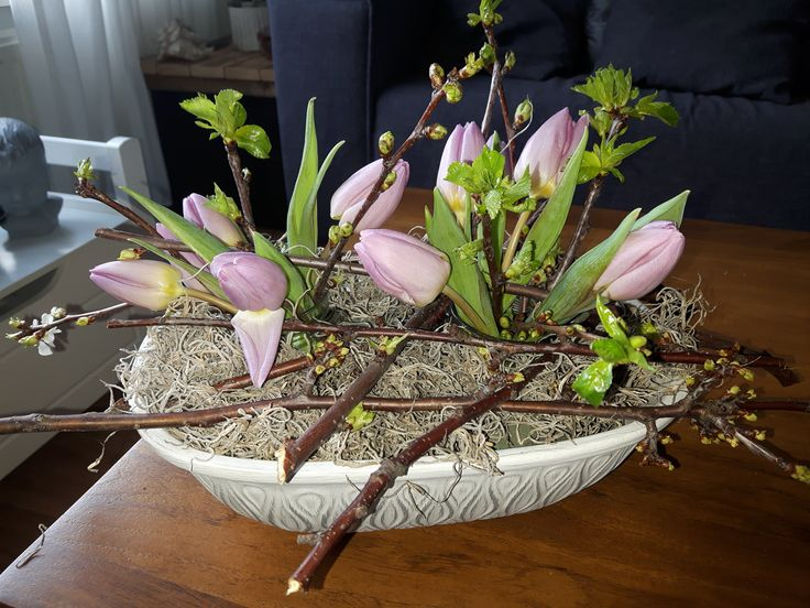 Eerst een Römertopf nu een bloemenschaal