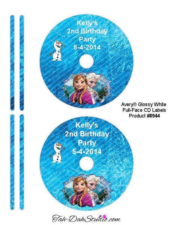 Watch more like Disney Frozen Dvd Disk Label