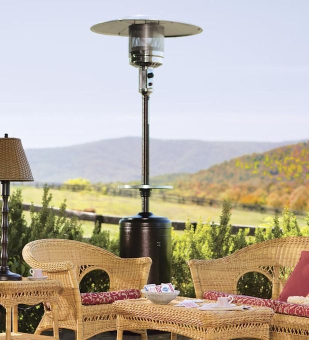 Steel Propane Patio Heater For The Cooler Evenings Of Fall. Gotta Get One  Of These To Extend Outdoor Time!