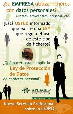 Consultoría sobre la Ley sobre la Protección de Datos Personales. Realizamos la implantación en tu empresa